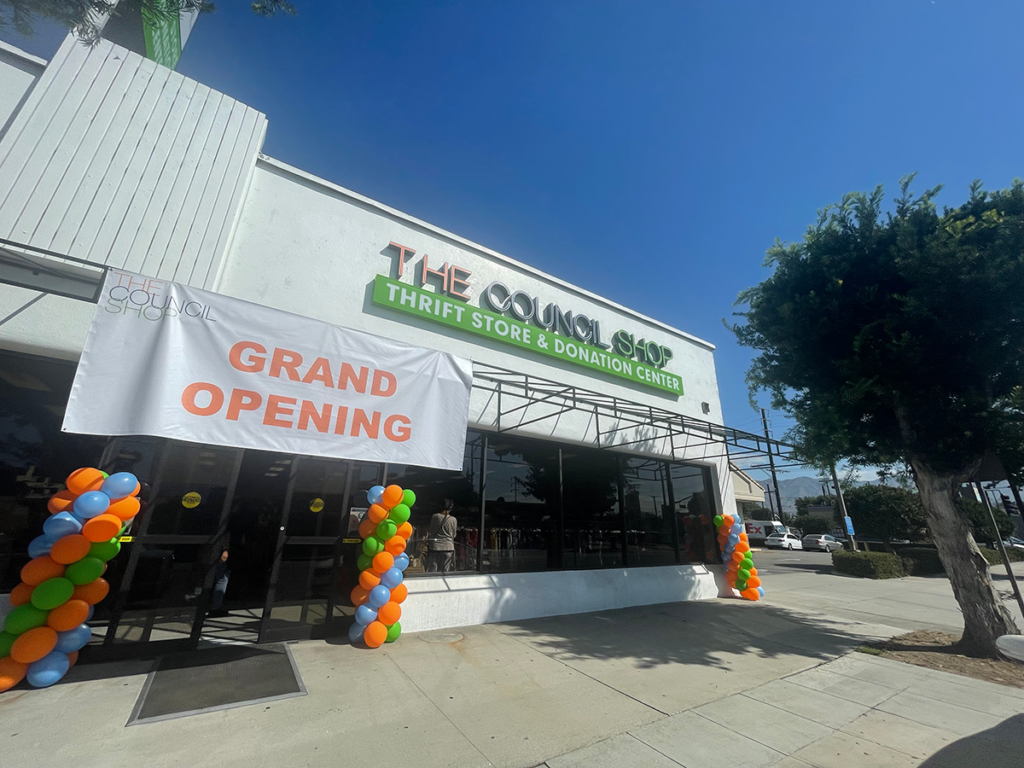 The Council Shop Has Opened at the Old Full O' Life Building in Burbank
