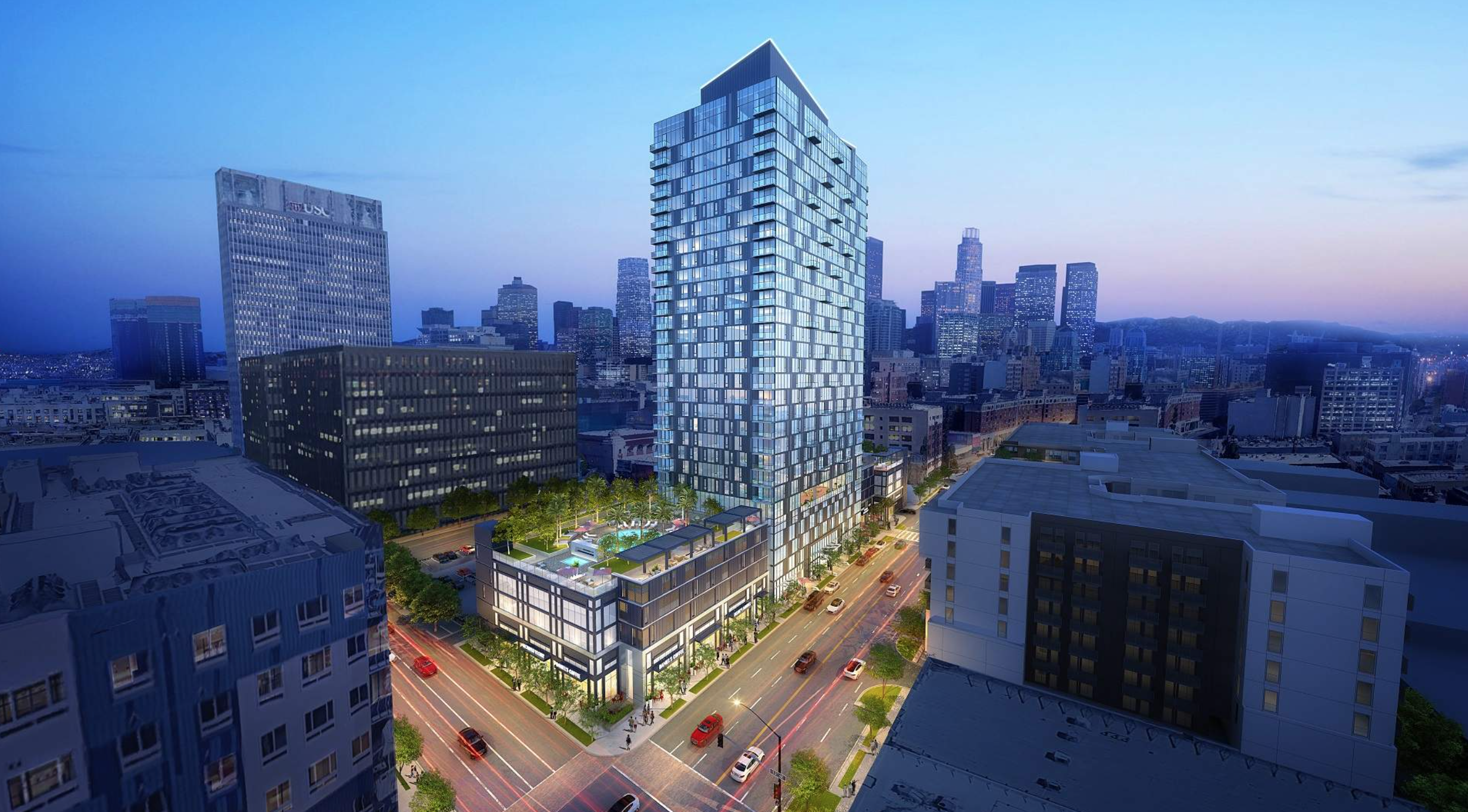 Main Street Tower Project Rendering 1